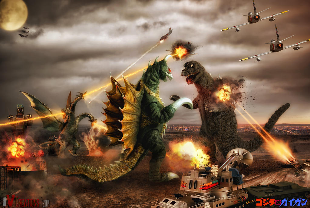 Godzilla: Birthday Ed.6(Godzilla vs Gigan)