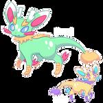 Dragon Eeveelution: Fafneon