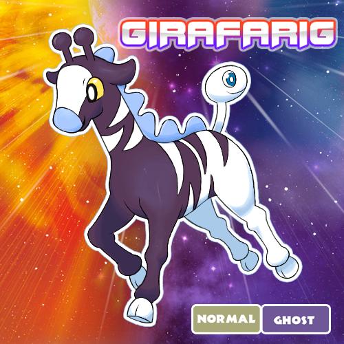 Girafarig Variant by Swag-Beetles