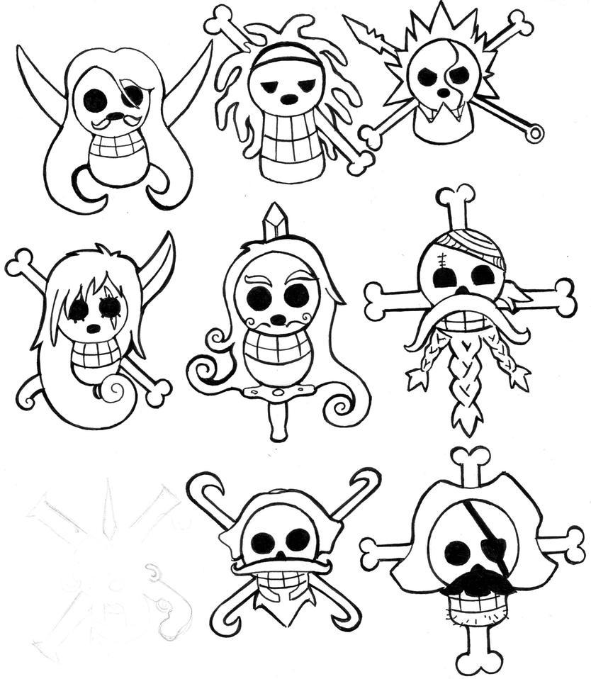 Pin Tatuagem Caveira