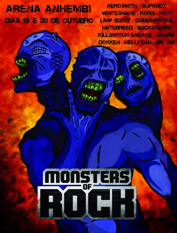 Monsters of Rock by Hammerheadd