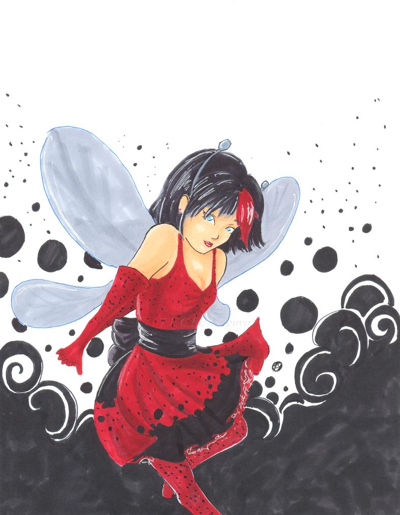 ladybug fairy by Liz-Kaguya