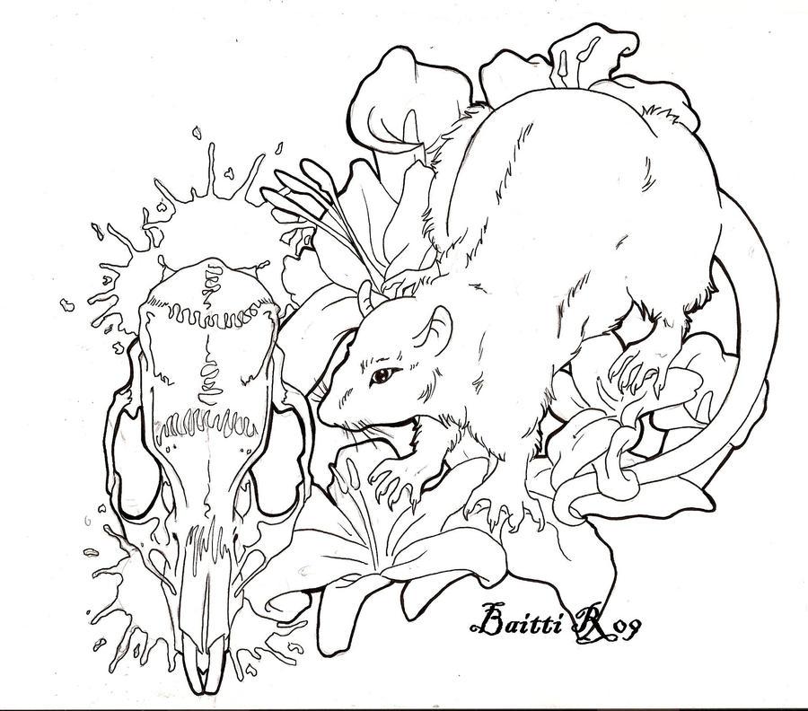 Next tattoo _Lineart_ by Baitti