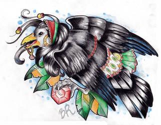 Gypsy crow by Baitti