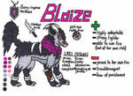 Blaize the Mightydoom (ref 2.0) by LuWickios97