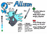 Allison the Shedinja (ref) by LuWickios97