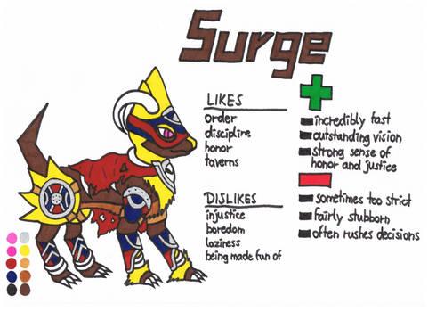 Surge the Manecdoom (ref)