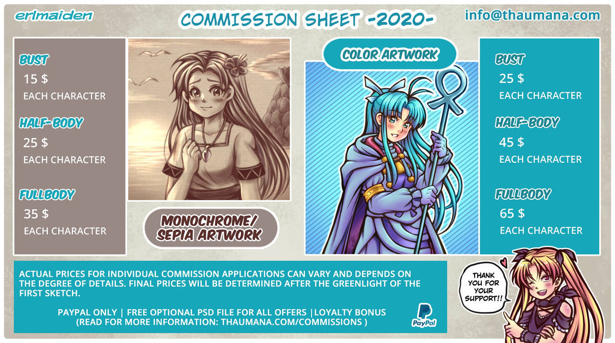 Erlmaiden Commission 2020