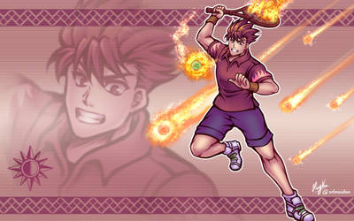 Tennis Adept Garet (Golden Sun)