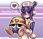 Meddy.EXE (Megaman Battle Network) by Thaumana