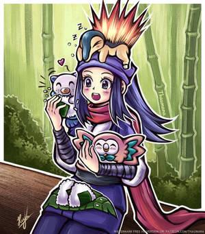Onigiri Picnic (Pokemon Legends Arceus)