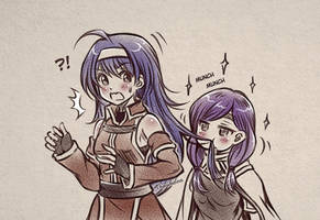 Mia Gets Eaten By Ilyana (Fire Emblem 9   10 )