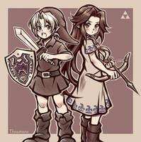 Romani and Link (VS. Them) [Majora's Mask]
