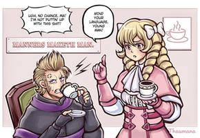 Teatime (Brady and Maribelle) [FE Awakening]