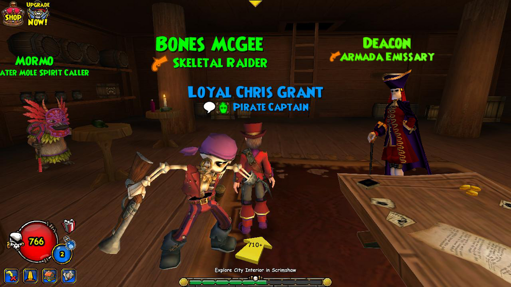 Pirate101: Deacon companion in my tavern by christophr1 on