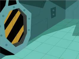 Danny Phantom Background: Fenton Lab 2 by christophr1