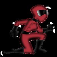 Danny Phantom: Red Huntress (3D-ish?) by christophr1