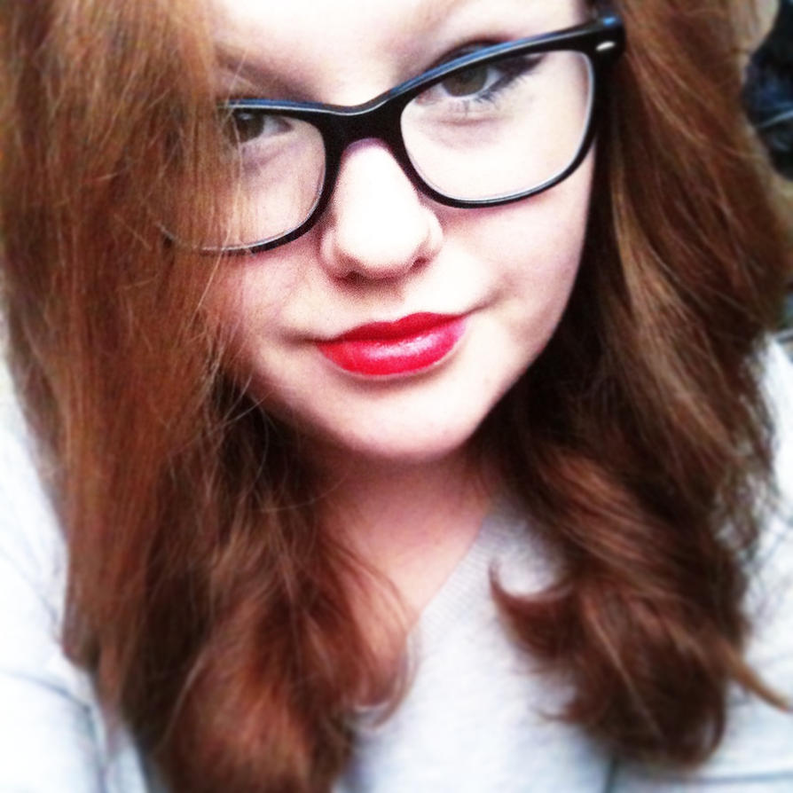 makeup test w/ glasses by Pitaten2