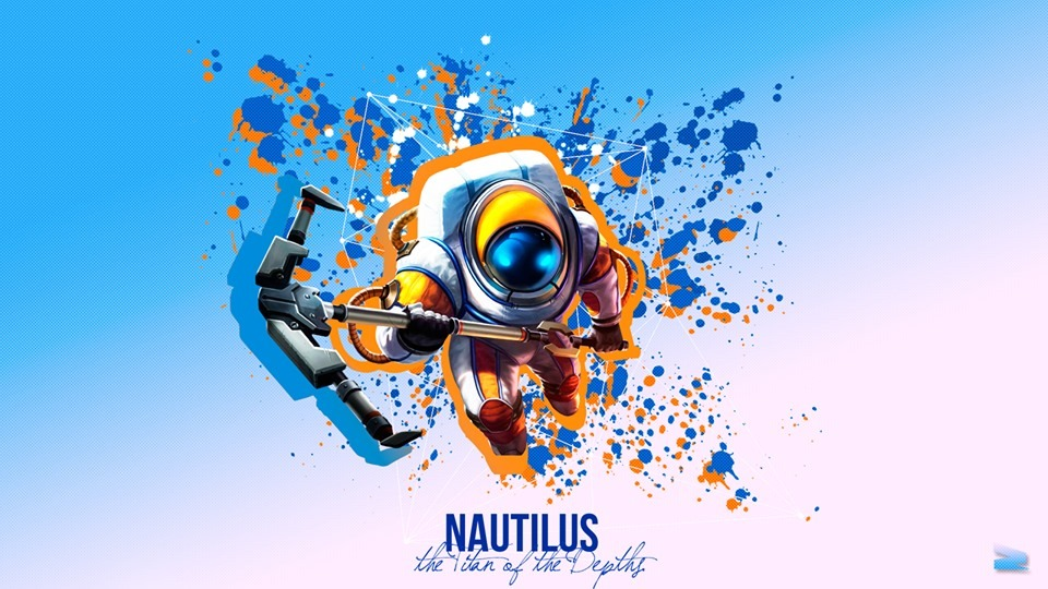 WallpaperPC LOL Nautilus 02 By HaimeiArts