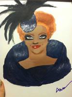 Bianca Del Rio painting.