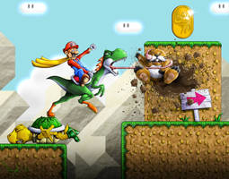 Super Mario World For SNES