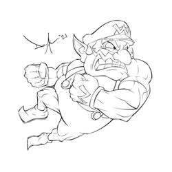 Wario Sketch