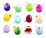 Eggs Designs 9/12 Open