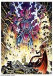 Galactus vs Mephisto