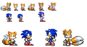 classic tails gba sprites