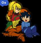 Samus and Megaman