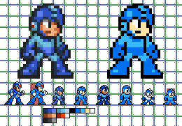 another Megaman Sprite Remake by BerserkerOx