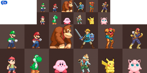Super Smash Bros Ultimate Sprite