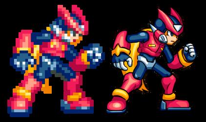 Megaman Zero Hd