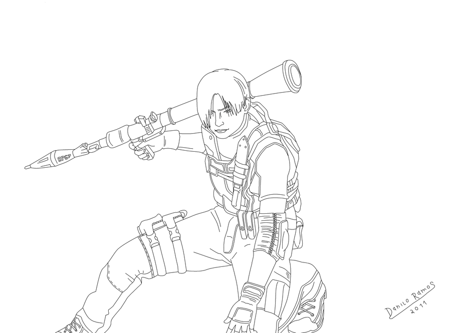 How To Draw Leon S Kennedy Free Download Oasis Dl Co