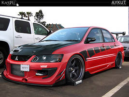 Mitsubishi Evolution IX by aykutfiliz