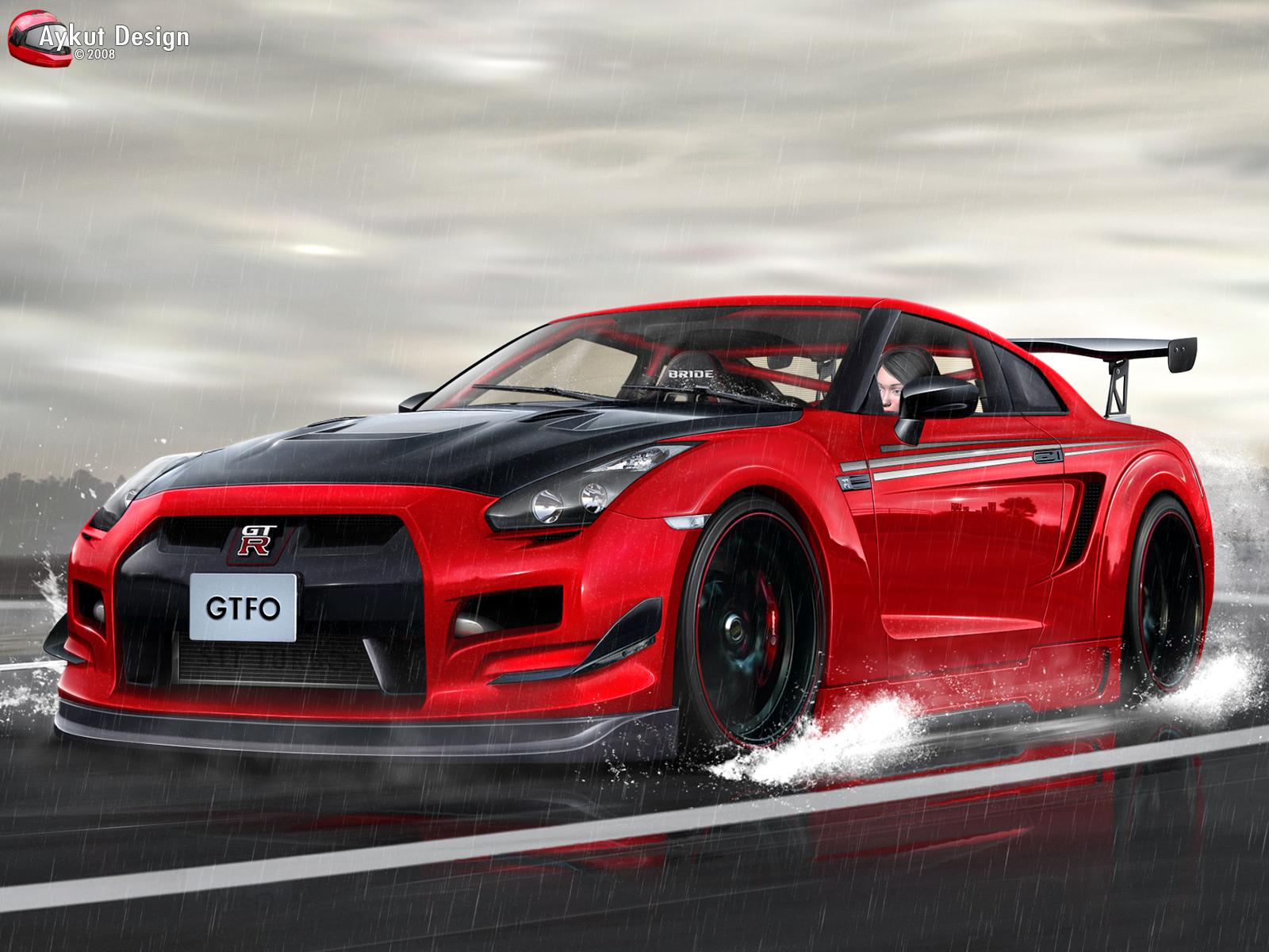 Nissan GTR R35 by aykutfiliz