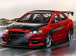 Mitsubishi Lancer Evolution-X