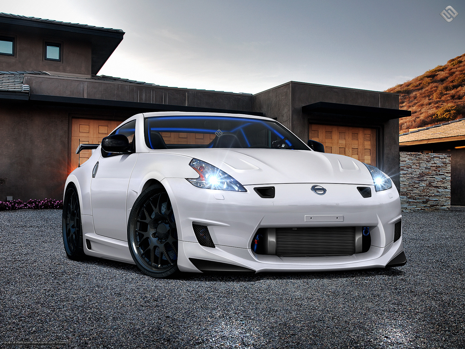 nissan 370z nismo wallpaper