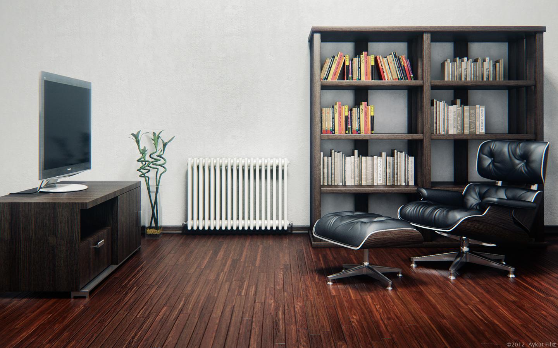 Tv Room by aykutfiliz