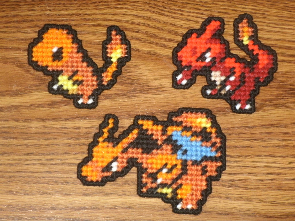 Charmander Family By UWorlds On