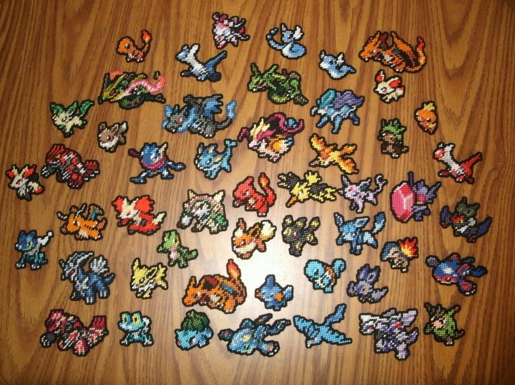 Pokemon Sprite Stitches - Gallery by UWorlds