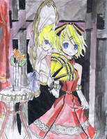 Kagamine Rin -I didnt draw- by Poplmon