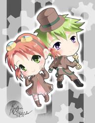 AnimeFest 2014 Child Badge by kriscomics