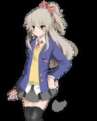 School Girl by kriscomics