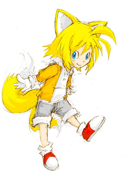 Tails the fox human