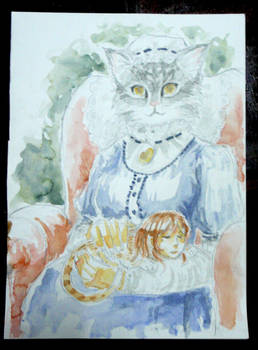 Cat and the Lady