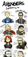 AVENGERS : Impression by DC9spot