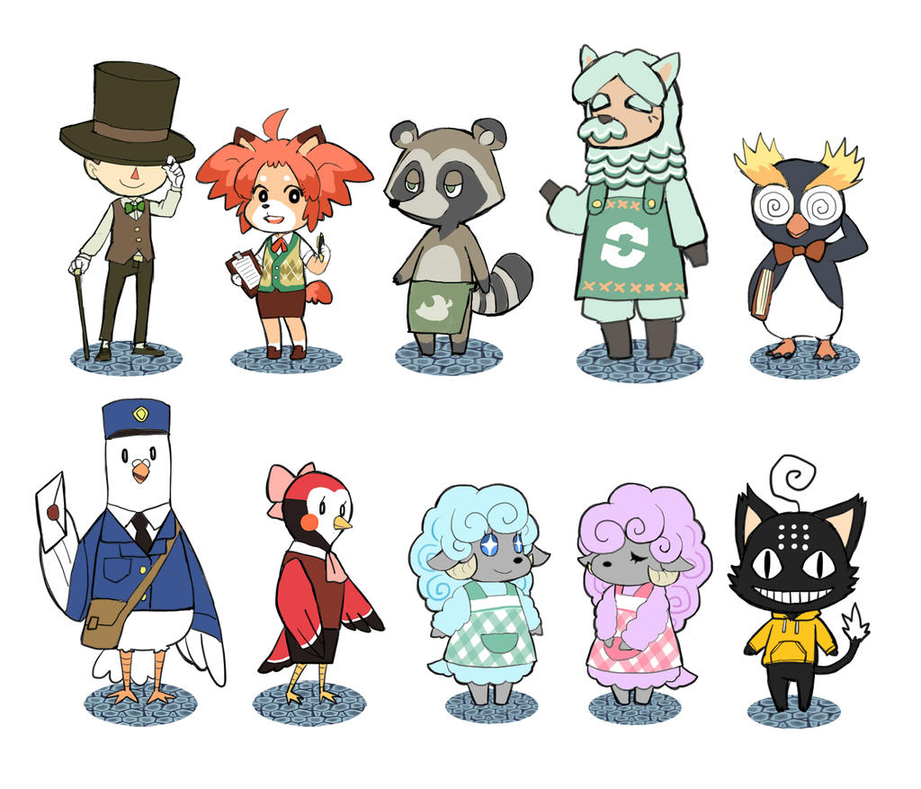Animal Crossing OC By DC9spot On DeviantArt Black Cat Anime Characters Names