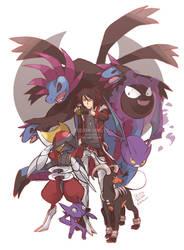 OC Pokemon Trainer : Dark type
