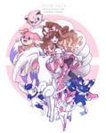 OC Pokemon Trainer : Fairy and Psychic type